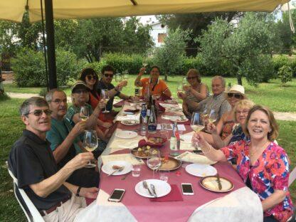 Happy people Wine Tour of Montecarlo